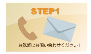 ホームページ作成のステップ1