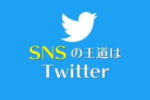 SNSはTwitter