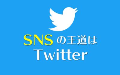 SNSの王道はTwitter