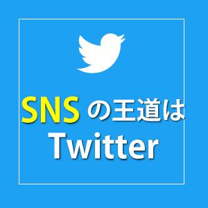 SNSはツイッター